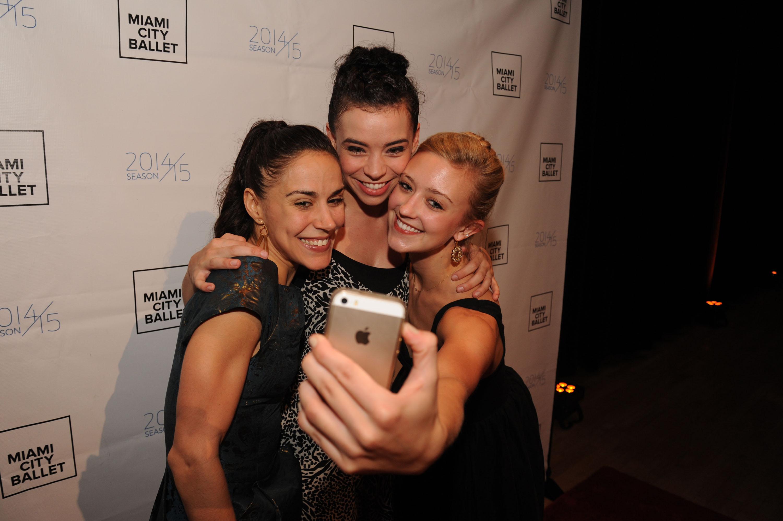 3797dd39e0d1 MCB Dancers Patricia Delgado, Adrienne Carter, & Lexie Overholt at ...